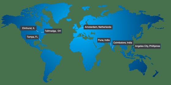 tranzact-international-locations-map